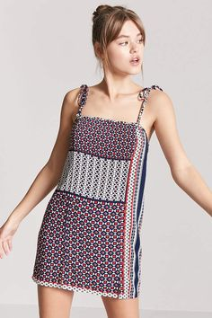 Product Name:Geo Print Mini Cami Dress, Category:dress, Price:10