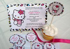 invites / Hello Kitty Party