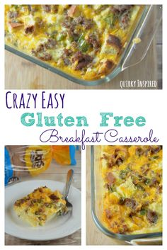 This breakfast casserole recipe is amazing, plus it has a great gluten free option! (psst.... you can use regular bread too!) Check out how easy it is to make and you can freeze it too! #ad #gfwalmart