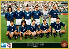 Fan pictures - 1994 FIFA World Cup United States. Greece team