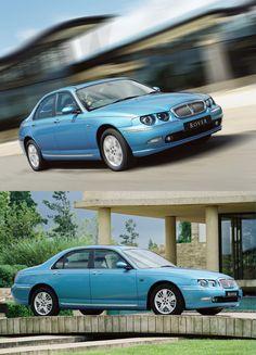Rover 75 2.5 V6 Connoisseur SE Auto Great British, Motor Car, Euro, Jazz, Classic Cars, Trucks, Vehicles, Blue, Childhood