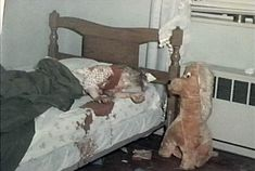 Real Graphic Crime Scene | The Jeffrey MacDonald Information Site: Kristen's body as found in her ...