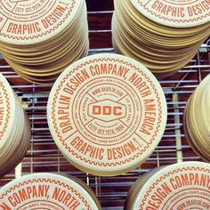 Draplin Design Coasters, love these!!!