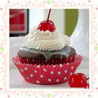 Cherry Coke Cupcakes s