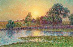 Per Ekstrom - Sunset at Oland