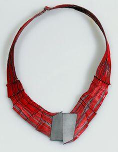 Necklace - silver, stainless steel - Pawel Kaczynski Jewellery