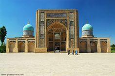 Barak Khan Madrasah at the Khast Imam complex Tashkent, UZBEKISTAN