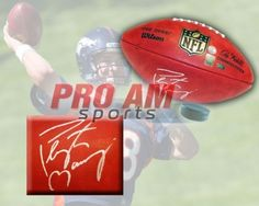 Peyton Manning Denver Broncos Signed NFL Wilson Game Ball  - Denver Broncos -  To order or for more information or pricing please contact info@roadgearsports.com More Information, Peyton Manning, Denver Broncos, Nfl, Game, Sports, Hs Sports, Venison, Sport