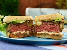 GZ's Iron Chef Burger Recipe | Geoffrey Zakarian | Food Network