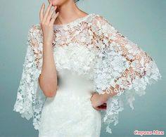 Crochet Bridal Shrug Crochet Wedding Shrug Crochet by ctroum Lace Cover Up Wedding, Wedding Shrug, Bridal Shrug, Bridal Cover Up, Wedding Jacket, Bridal Lace, Wedding Gowns, Lace Wedding, Wedding Cape