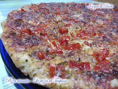 Pizza rianata - La pizza di Trapani