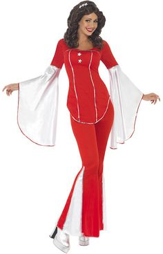 70s Abba costume - perfect as Eurovision fancy dress!