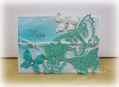 Hope and Butterflies card by Paper Melody's
