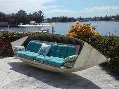 Im Sommer möchten Sie im Garten sitzen? Das kann mit diesen 14 selbstgemachten Gartenmöbeln! - DIY Bastelideen