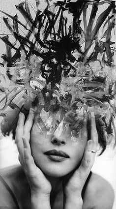 """How many things have to happen to you before something occurs to you?"" ― Robert Frost (""Abstract Passion 2"" by Antonio Mora)"