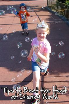 If you are planning a trip to Disney World during the summer, here are some tips on ways to beat the heat