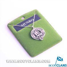 Munro Clan Crest Pendant: