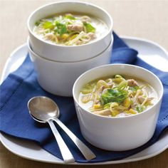 Hearty Asian Chicken Noodle Soup