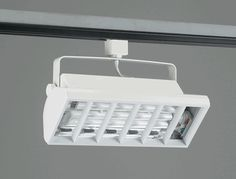 """TR552 COMPACT FLUORESCENT TRACK FIXTURE    Louver-White    """"Please Click on the Picture under Schematic to see Detail Information on Track Light""""  Lamp: 2x 18W – Biax (2G11 Base)not included (total lumen output = 9600)  Regular price: $172.50  Sale price: $124.50"""