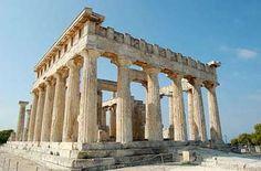 Temple de Aphaia, Egine, Iles Saroniques