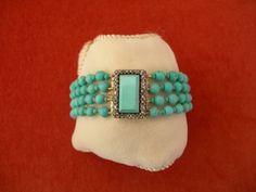 Late Georgian Turquoise Bracelet