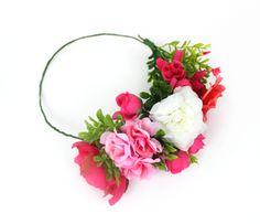 Flowery crown DIY