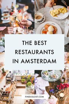 Amsterdam Travel Guide, Day Trips From Amsterdam, Amsterdam Food, Restaurant Amsterdam, Chicken Bar, Delicious Destinations, Pokemon, Brunch Spots, Homemade Soup