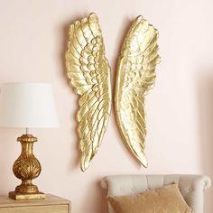 Gold Angel Wings Wall Art 69 X 101