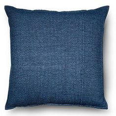 Oversized Throw Pillow Chambray Denim - Blue – Threshold™
