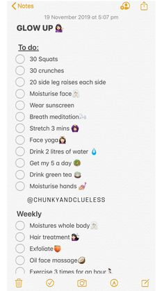 Glow Up Checkliste 💁🏻‍♀️ routine checklist routine daily routine schedule routine skincare routine weekly Tips Instagram, The Glow Up, Beauty Tips For Glowing Skin, Glow Up Tips, Baddie Tips, School Routines, School Routine For Teens, Face Yoga, Self Care Activities