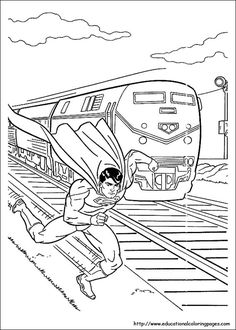 49 Best Superman Coloring Pages Kids Images Superman Coloring