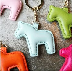 Pony Key Ring