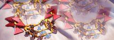 Dynamo necklace Sur les toits de Paris - Collection Kaleidoscope