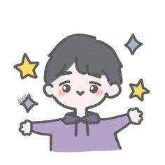 Character Illustration, Illustration Art, Cute Kawaii Animals, Doodles, Dibujos Cute, Cute Anime Pics, Cute Chibi, Anime Art Girl, Cute Stickers