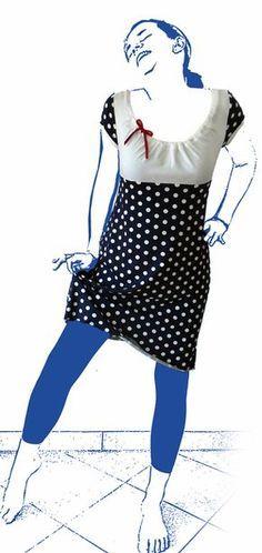 Kleid Ferrara - Schnittbox-Schnitte und Nähanleitungen für Selbermacher