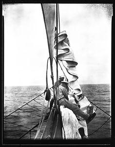 [South Seas: Crew Members on Prow, Aboard the Cressida] ~Walker Evans, 1932