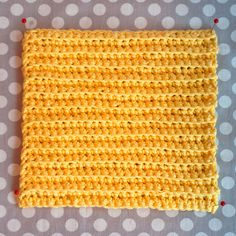 """Washcloth pattern. Fun use for left over yarn. And they are apparently """"the best"""" dish rags ever! Easy to make."""