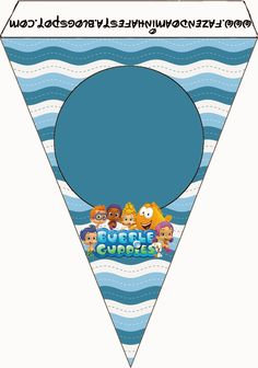 Bubble Guppies Free Party Printables.   Oh My Fiesta! in english