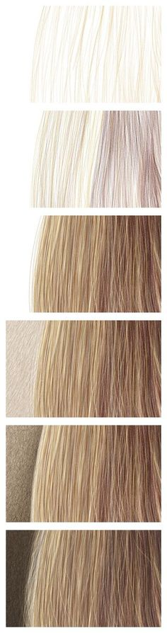 Drawing the Hair with Color Pencils – Steps 1-6