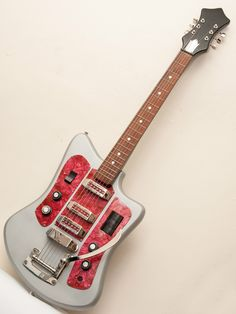 Speaking of Soviet: Dig this Sputnik-age Formanta Solo...with onboard fuzz, no less.