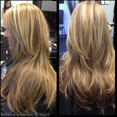 By Staiy T. Hilights & lolites|haircut|style  @bloomdotcom