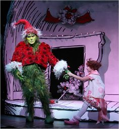hows the grinch stole christmas broadway - Google Search