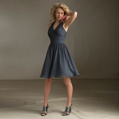 Fashionably Yours - Cambria Ruched Halter Cocktail Bridesmaid Gown by Angelina Faccenda Bridesmaids For Mori Lee Birdal, $275.00 (http://fashionably-yours.com.au/cambria-ruched-halter-cocktail-bridesmaid-gown-by-angelina-faccenda-bridesmaids-for-mori-lee-birdal/)