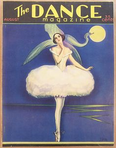 The Dance Magazine 1929  Cover by Vargas