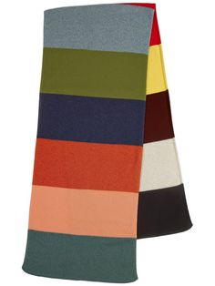 da83fb5303982 Colourblock Brushed Shawl - Jo Gordon Aw 2018, Blanket Scarf, Knitwear,  Shawl,