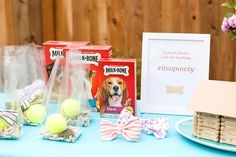 How to Throw a Birthday Party… For Your Dog! - Brit + Co Puppy Birthday Parties, Bear Birthday, Puppy Party, Animal Birthday, Dog Parties, Parties Food, Birthday Stuff, 11th Birthday, Birthday Ideas