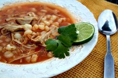 Mommy's Kitchen - Home Cooking & Family Friendly Recipes: Mexican Pork Pozole {Red Pozole}