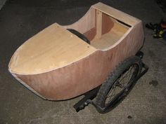 How To: Build a Bicycle Side Car   Man Made DIY   Crafts for Men   Keywords: car, side, sidecar, bicycle