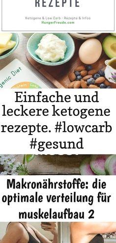 Einfache und leckere ketogene rezepte. #lowcarb #gesund #schnellundeinfach #keto #deutsch 9 : Einfache und leckere Ketogene Rezepte.  #lowcarb #gesund #schnellundeinfach #keto #deutsch ?Hier erfährst Du alles, was Du über Proteine, Fette und Kohlenhydrate wissen musst! ?Das gesamte Wissen über die Makronährstoffe! ?So sieht die perfekte Makronährstoffverteilung für den Aufbau und die Diät aus. ?Was ist der optimale Proteinbedarf für maximalen Muskelaufbau? The Best Way To Start A Ketogenic…