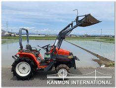 UsedJapaneseTractors.jp : KUBOTA A175 4WD W/FL Kubota, Lawn Mower, Outdoor Power Equipment, Tractor, Lawn Edger, Grass Cutter, Garden Tools